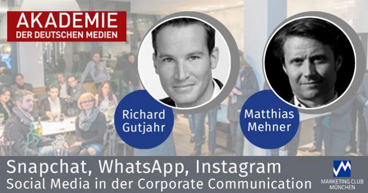 Social Media in Corporate Communication